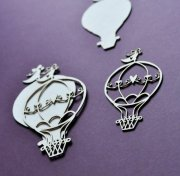 Chipboard Die Cuts - Luftballonger
