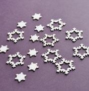 Chipboard Die Cuts - Snöflingor