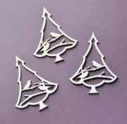 Chipboard Die Cuts - Vinter granar