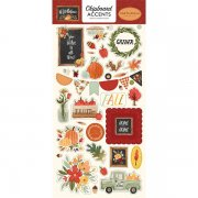 Chipboard Stickers Carta Bella - Hello Autumn - Accents
