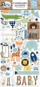Chipboard Stickers Echo Park - Baby Boy