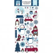 Chipboard Stickers Echo Park - My Favorite Winter - Accents