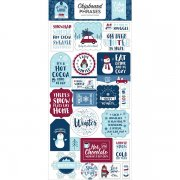 Chipboard Stickers Echo Park - My Favorite Winter - Phrases