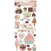 Chipboard Stickers Stamperia - Sweety