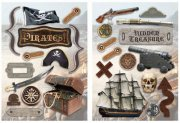 Chipboard Paper House - Pirate