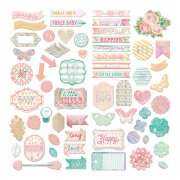 Chipboard Stickers - Heaven Sent 2 - Prima Marketing