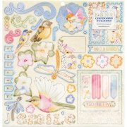 Chipboard Stickers Bobunny - Harmony