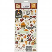 Chipboard Stickers Echo Park - My Favorite Fall - Accents