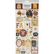 Chipboard Stickers Echo Park - My Favorite Fall - Phrases