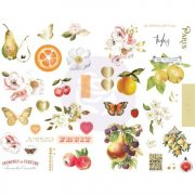 Chipboard Stickers Prima Marketing - Fruit Paradise