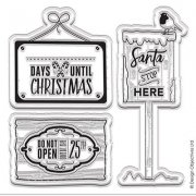 Clearstamps Set - Papermania - Christmas Signs