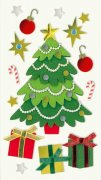 3D Stickers Mix - Christmas Tree - Heyda
