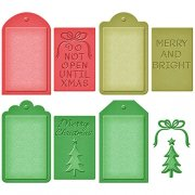 Spellbinders Shapeabilities Dies - Christmas Tags