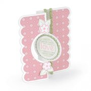 Dies Sizzix Framelits - Circle #2 Flip-Its Card