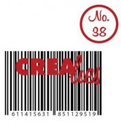 Clearstamp - Crealies - Bits & Pieces - no.38 - Barcode