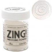 Embossingpulver Zing - Clear Finish