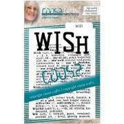 Clear Stamps Coosa Crafts - Background Wish
