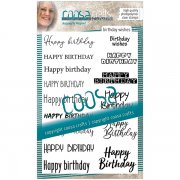 Clear Stamps Coosa Crafts - Birthday Wishes