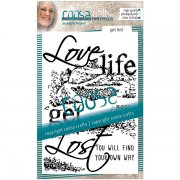 Clear Stamps Coosa Crafts - Get lost