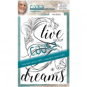 Clear Stamps Coosa Crafts - Live Dream