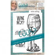Clear Stamps Coosa Crafts - Wine Setting