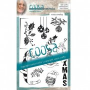 Clear Stamps Coosa Crafts - Xmas Envelope