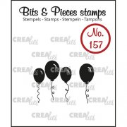 Clear Stamps Crealies - Bits & Pieces - Balloons