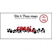 Clear Stamps Crealies - Bits & Pieces - Cirkles strip