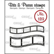 Clear Stamps Crealies - Bits & Pieces - Filmrullar