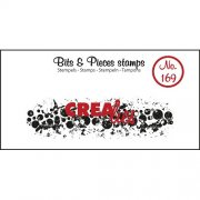 Clear Stamps Crealies - Bits & Pieces - Grunge Cirkles Strip