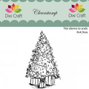 Clear Stamps Dixi Craft - Christmas Tree