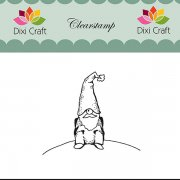 Clear Stamps Dixi Craft - Sitting Gnome