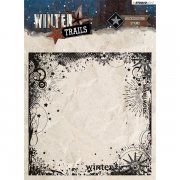 Clear Stamps Studio Light Winter Trails - Background