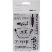 Clearstamps - Bon Appetit - Kaisercraft