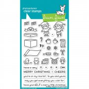 Clear Stamp - Lawn Fawn - Holiday Helpers