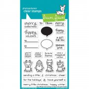 Clear Stamp - Lawn Fawn - Say What? Christmas Critters
