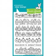 Clear Stamp - Lawn Fawn - Simply Celebrate Winter