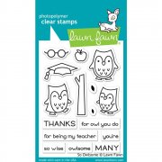 Clear Stamp - Lawn Fawn - So Owlsome