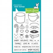 Clear Stamp - Lawn Fawn - Thanks A Latte