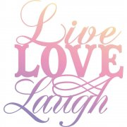 Clear Stamp Couture Creations - Live, Love, Laugh