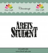Clear Stamp Dixi Craft - Årets Student