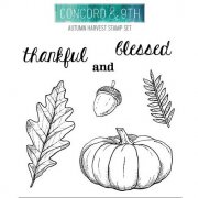 Clearstamps Concord & 9th - Autumn Harvest