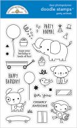 Clearstamps Doodlebug - Party Time - Doodle