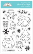 Clearstamps Doodlebug - Winter Wonderland - Doodle Stamps