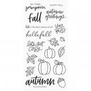Clearstamps My Favorite Things - Autumn Blessing