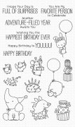 Clearstamps My Favorite Things - Birthday Buds