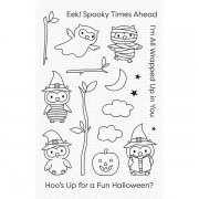 Clearstamps set My Favorite Things - Halloween Hoo