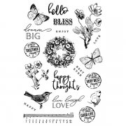 Clearstamps Simple Stories - Simple Vintage Garden District