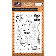 Clearstamps Carta Bella - Halloween Night