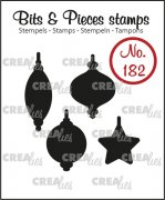Clear Stamps Crealies - Bits & Pieces - Christmas Ornaments 2